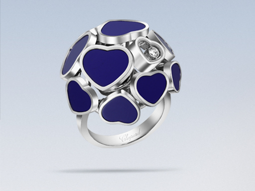 anello chopard, anello happy diamonds