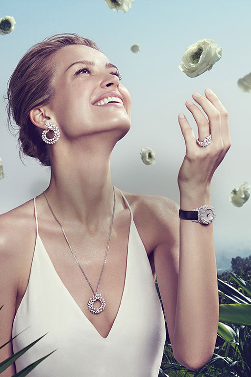 petra nemcova,chopard high jewellery