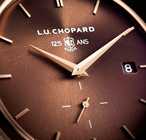 The L.U.C XPS Poinçon de Genève 125th Anniversary Edition in 18-carat rose gold was launched to celebrate the anniversary of the prestigious quality hallmark.