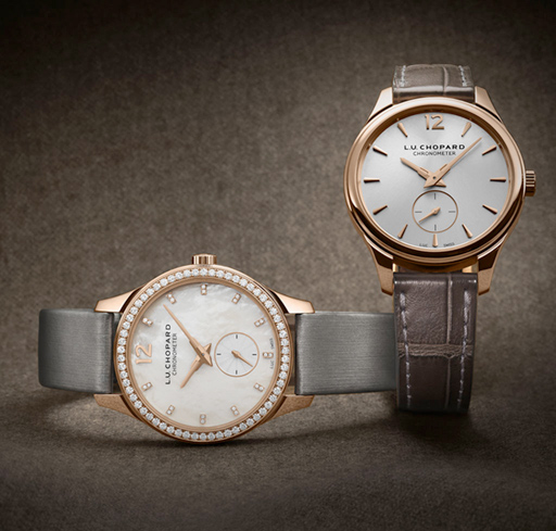 Their classic, resolutely horological design endows them with a timeless style beyond the reach of changing fashions.