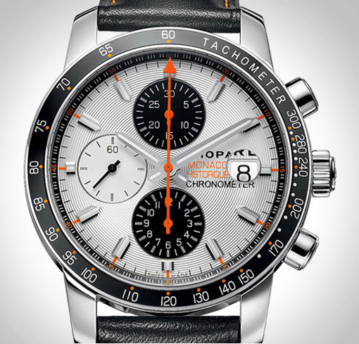 2010 edition, the official timepiece of the Grand Prix de Monaco Historique.