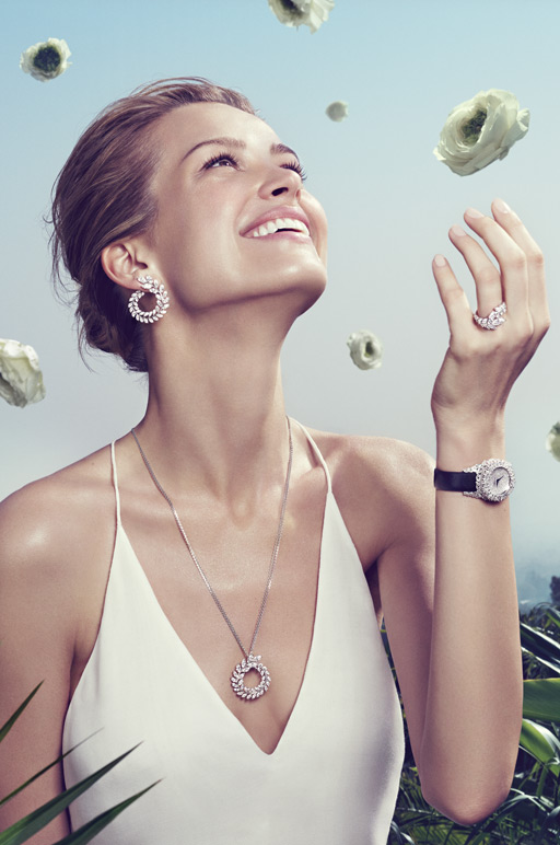 petra nemcova,chopard greencarpet,chopard high jewellery