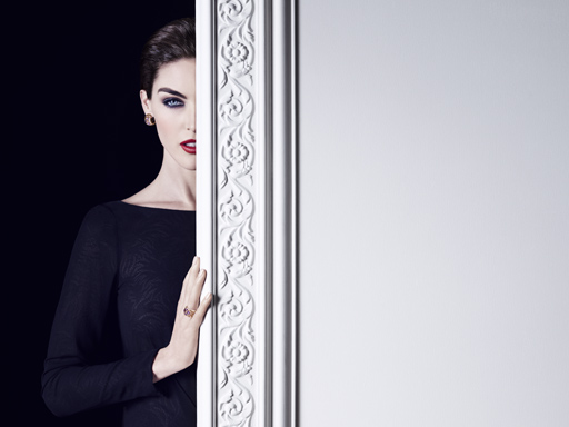 chopard IMPERIALE,hilary rhoda,chopard jewels
