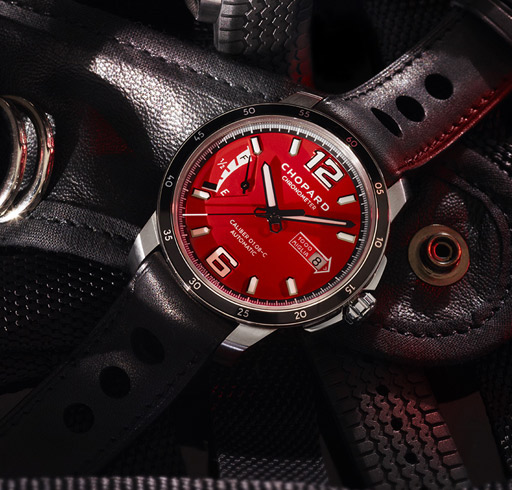 EVERY YEAR, CHOPARD ISSUES A LIMITED MILLE MIGLIA WATCH EDITION (THE RACE EDITION), DESIGNED FOR COLLECTORS