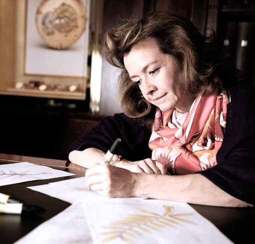Caroline Scheufele, Chopard's Co-President and Artistic Director, redesigned the Cannes Palme d'Or