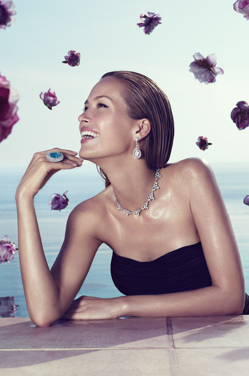 Petra Nemcova, Chopard, High Jewellery, Campaign