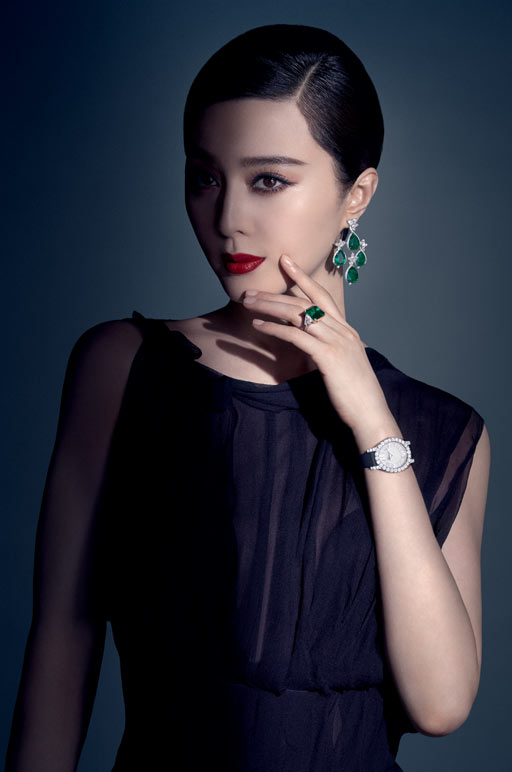 Fan Bing Bing, Chopard, High Jewellery, Campaign