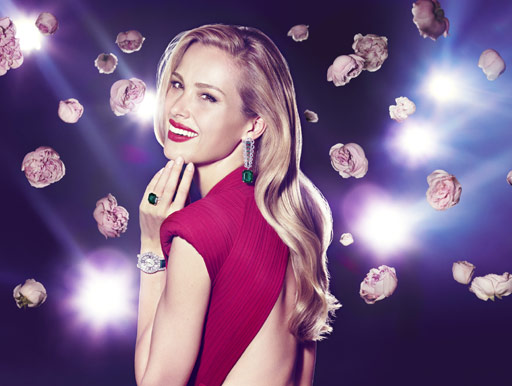 Petra Nemcova, High Jewellery campaign, Chopard