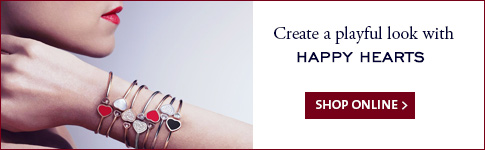 Create a playful look with Happy Hearts jewellery