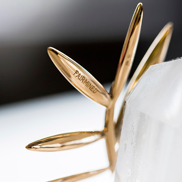 A close-up of the Cannes Film Festival Palme d'Or