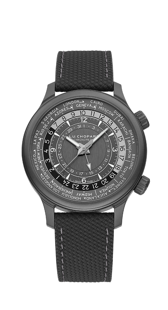 L.U.C TIME TRAVELER ONE BLACK 168574-3008