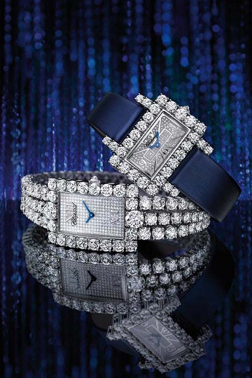 heure du diamant chopard,chopard high jewellery