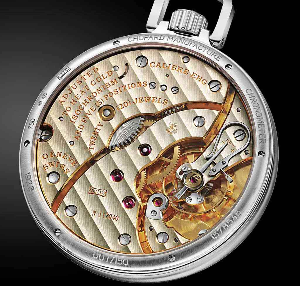 Chopard workshop, Louis-Ulysse Chopard