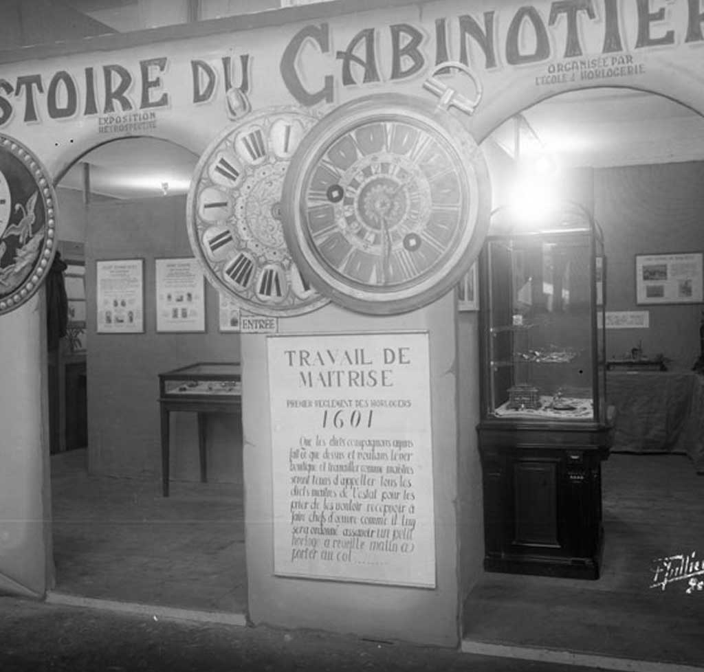 THE GENEVA CABINOTIERS INCLUDED ALL WATCHMAKING PROFESSIONS SUCH AS JEWELLERS, ENGRAVERS AND CASING-UP SPECIALISTS.