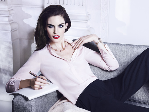 chopard IMPERIALE,hilary rhoda,chopard hilary rhoda