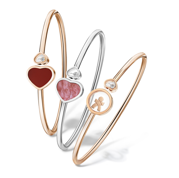 bangle chopard happy hearts collection