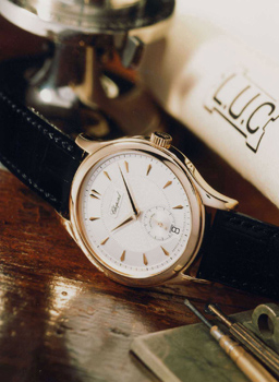 Image of 1st LUC watch created by the Chopard Manufacture