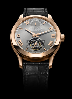 Image of First LUC watch in Fairmined gold, the LUC Tourbillion QF