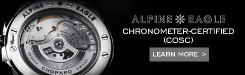 Alpine Eagle collection is chronometer-certified. Learn more
