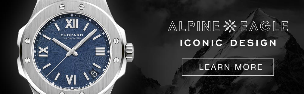Alpine Eagle collection, learn more about its iconic design
