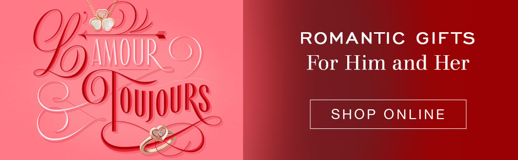 Shop online for romantic gifts for him and her