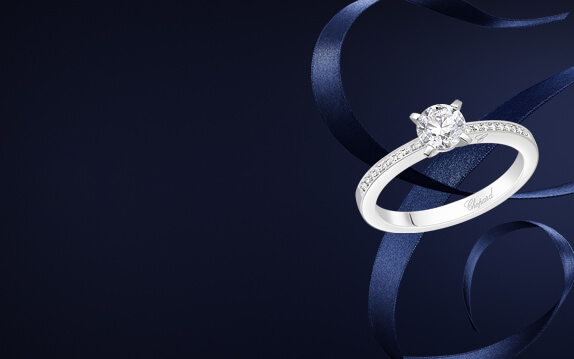 chopard for ever pave engagement ring