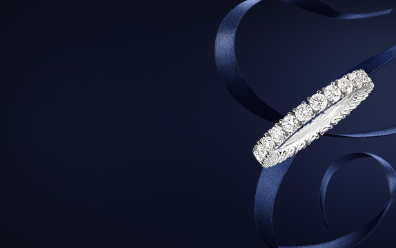 l heure du diamant wedding ring