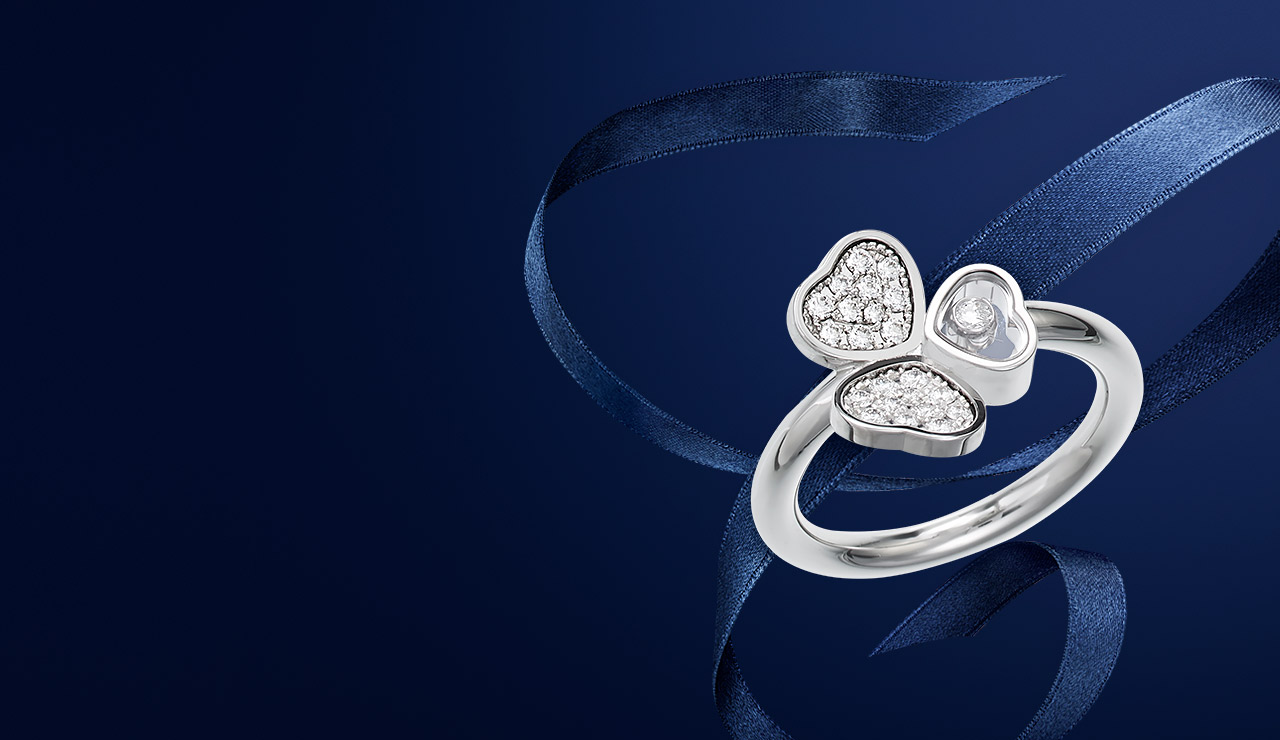 Rings for women, including our heart rings featuring floating diamonds.