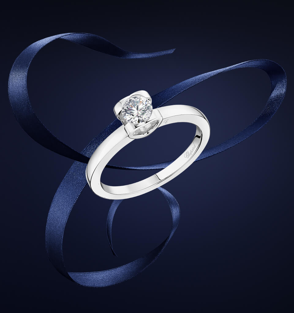 chopard for love engagement ring