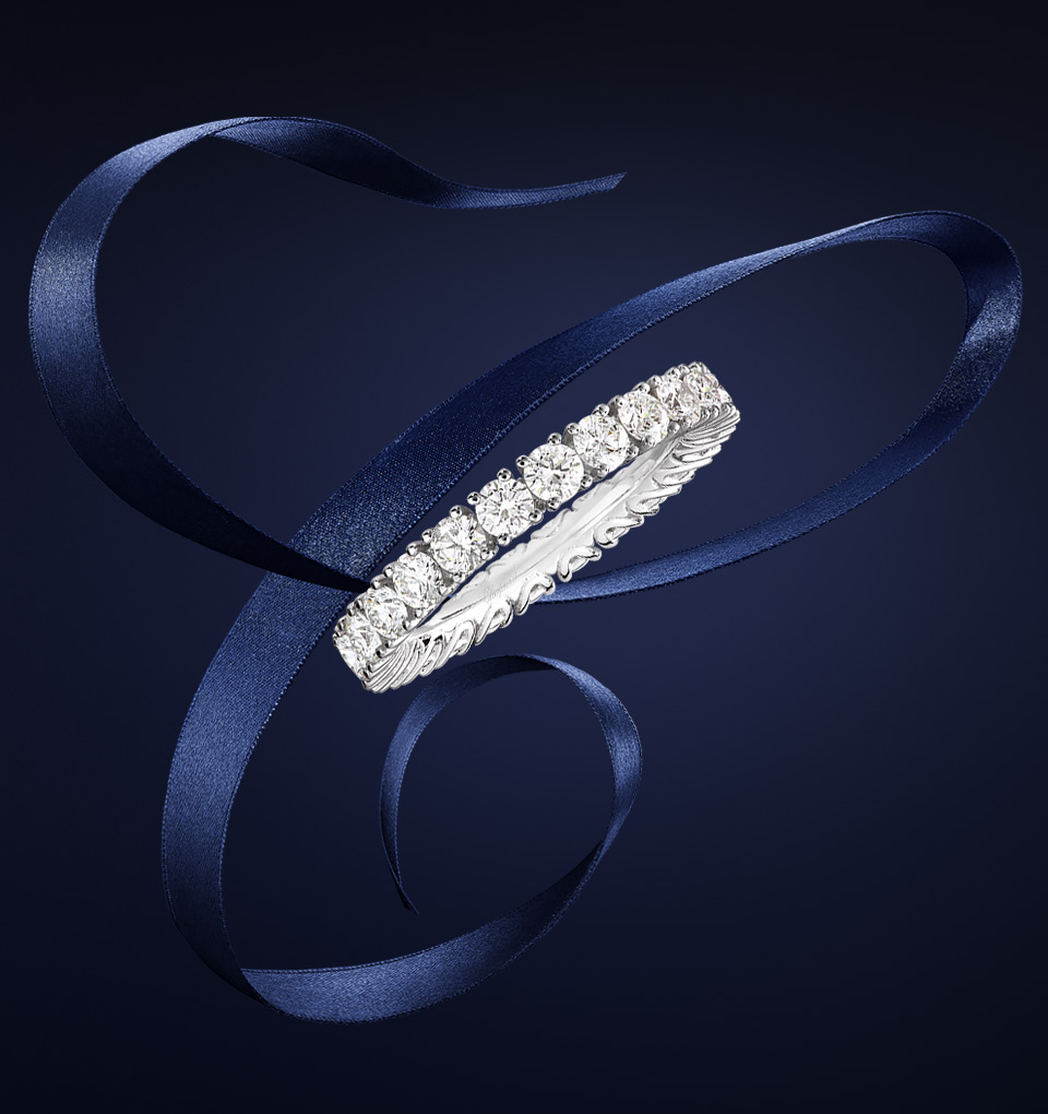 Heure du Diamant Wedding Ring