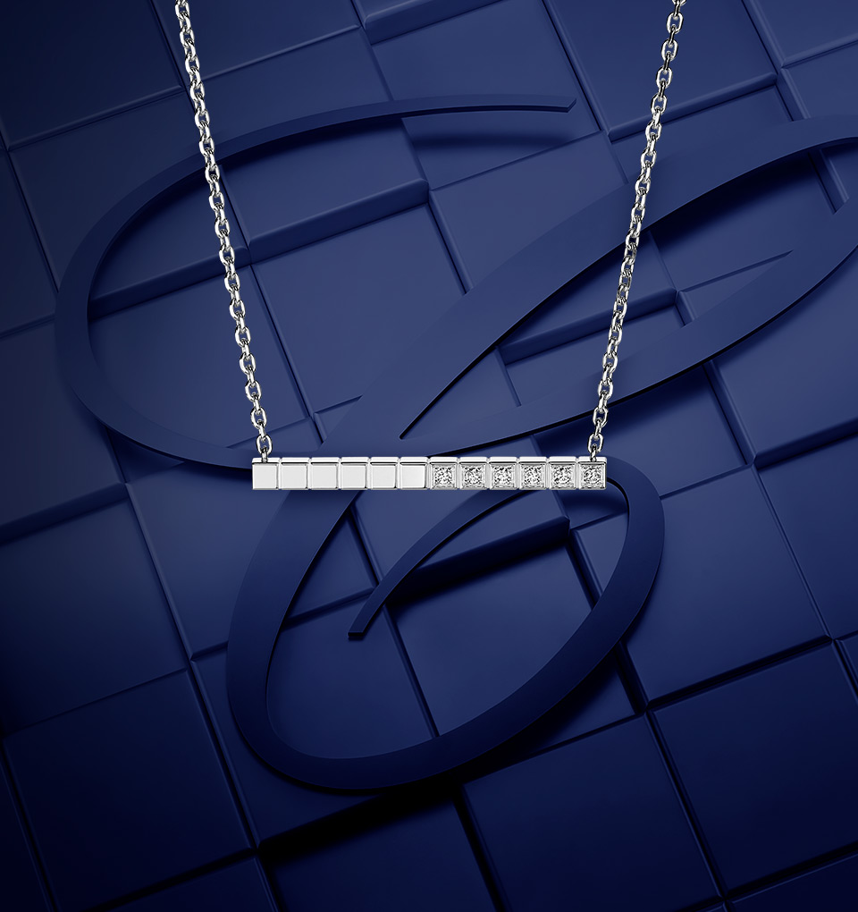 Ice Cube Necklaces and Pendants