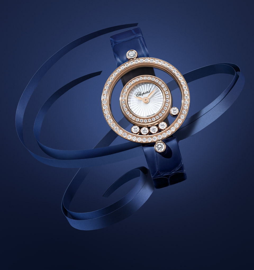 ddac4bbbf Chopard Happy Diamonds - Luxury Sport watches | US Official website