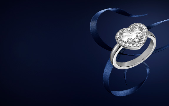 Happy Diamonds ring