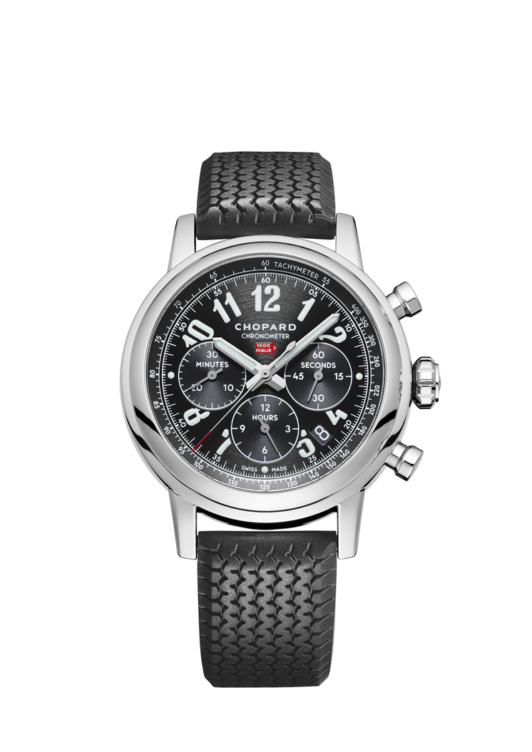 MILLE MIGLIA CLASSIC CHRONOGRAPH 42 MM, AUTOMATIC, STAINLESS STEEL  168589-3002 - Chopard Swiss Luxury Watches and Jewelry Manufacturer