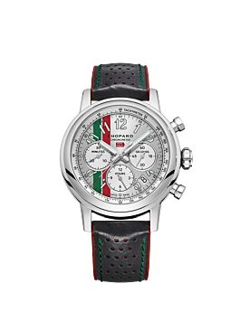 Mille Miglia Classic chronograph mexico edition front watch shot