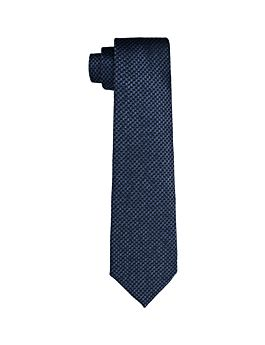 HOUNDSTOOTH JACQUARD TIE