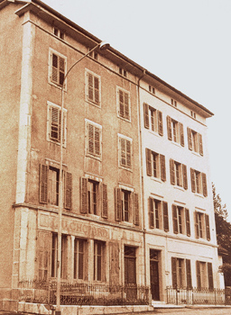 Vintage image of Original Chopard Building