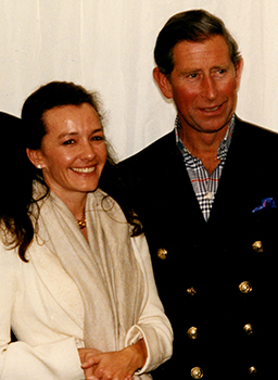 Image of Caroline Scheufele and the Prince of Wales