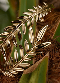 Image of Palme d'or inspired jewelry