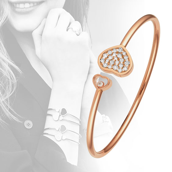 Chopard Happy Hearts bangles