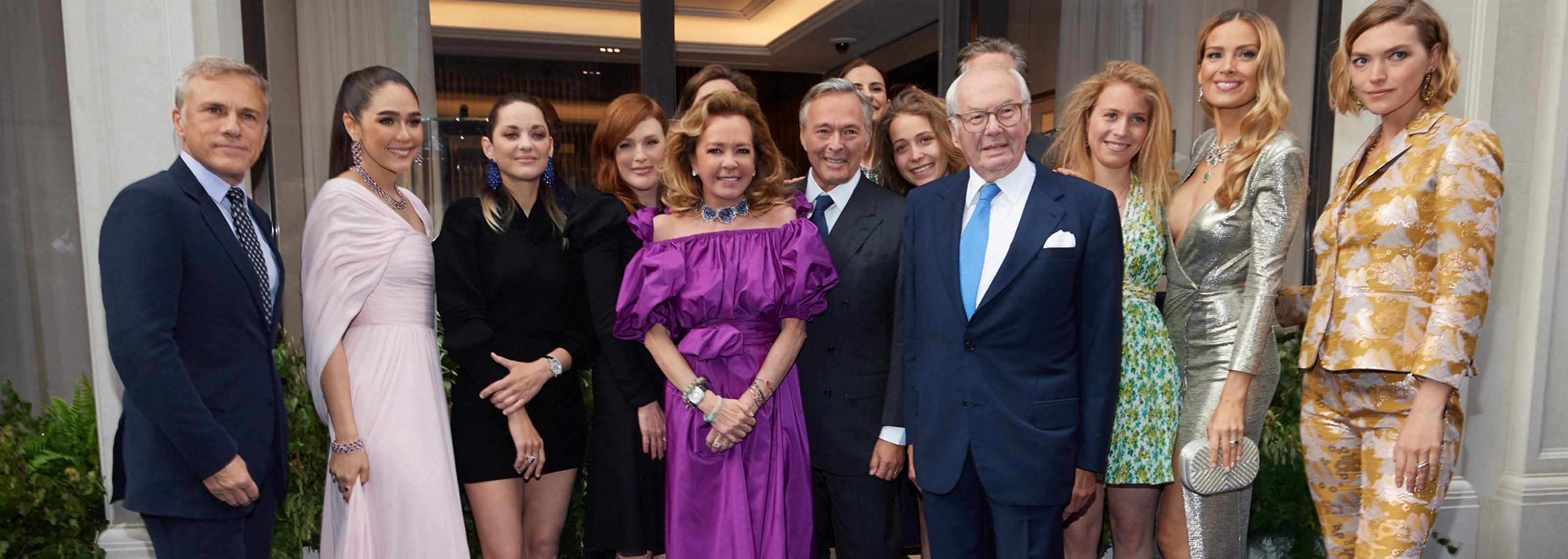 Chopard loves London - Chopard stages a stylish inauguration of its new flagship boutique on Bond Street