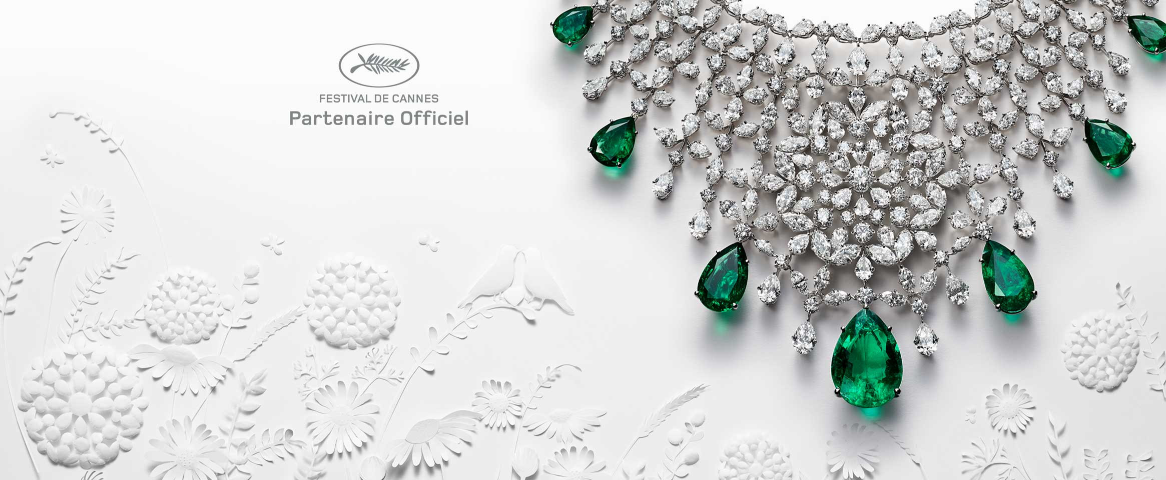 <b>Chopard, </br> Partner Ufficiale del</br> Festival del Cinema di Cannes</b>