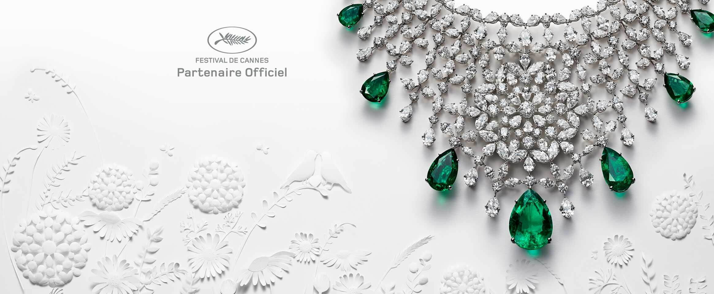 <b>CHOPARD, </br> PARTNER UFFICIALE DEL </br> FESTIVAL DEL CINEMA</br>DI CANNES </b>