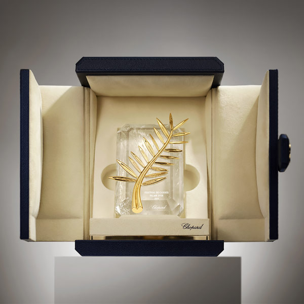 Palme D'or award in the Chopard case