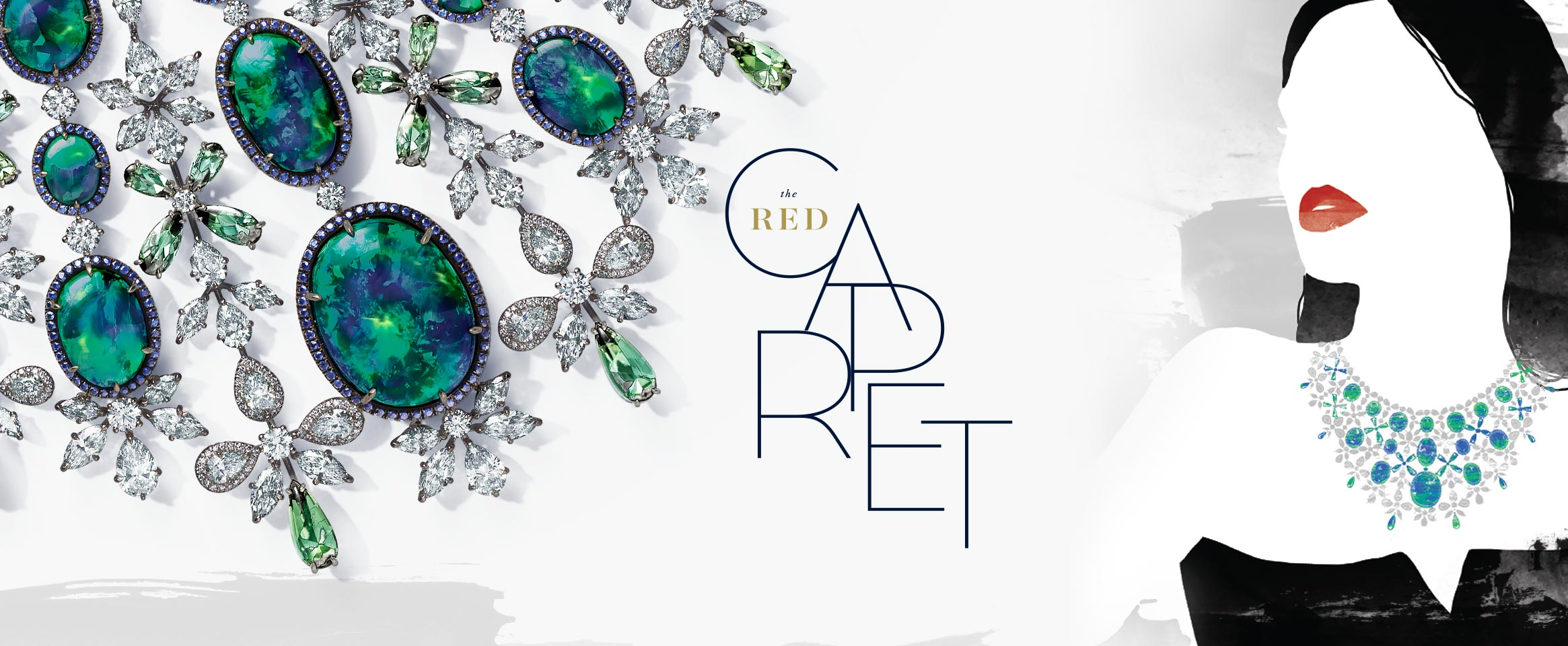 Header of Chopard's Red Carpet Collection 2017 page