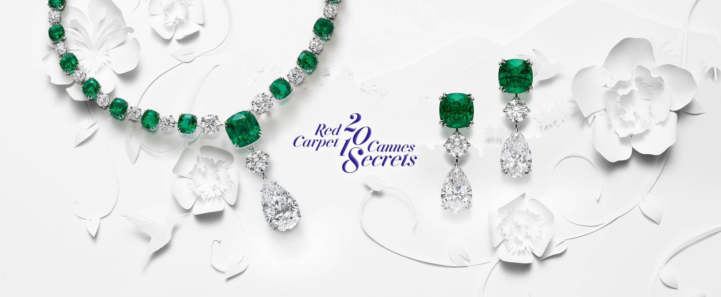 Header of Chopard's Red Carpet Collection 2018