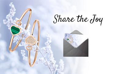 Share the Joy with a Chopard card