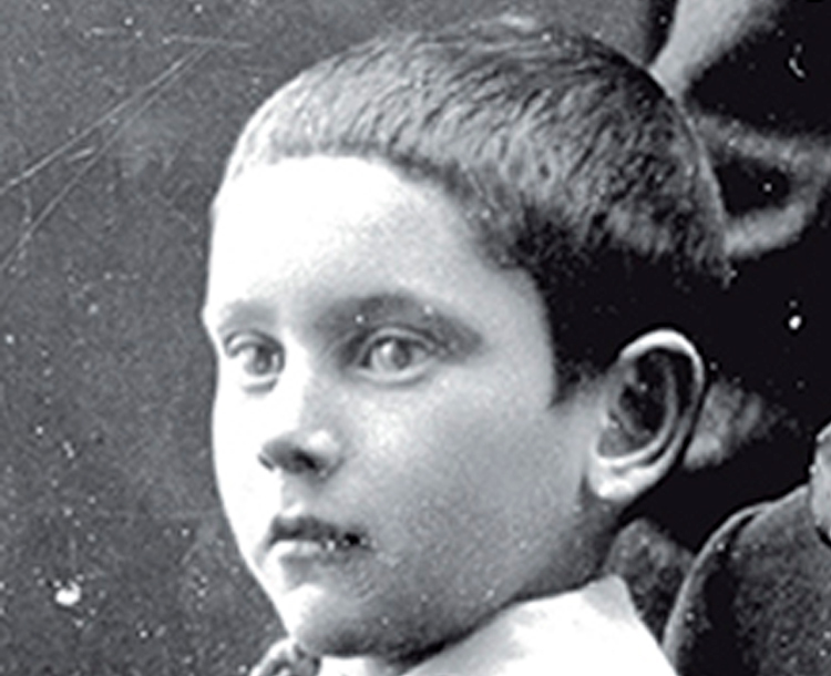 Image of Paul Andre Chopard as a boy
