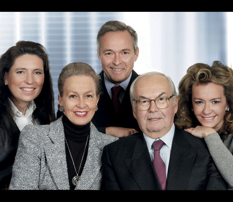 Image of the Scheufele family
