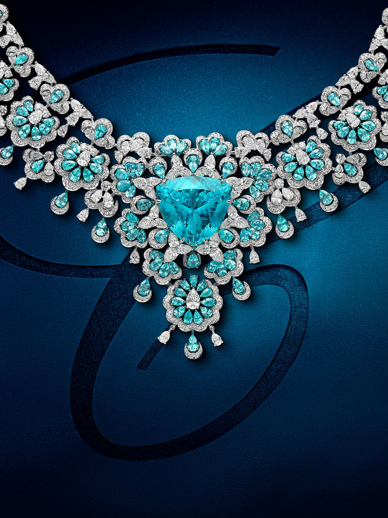 One of Chopard's Red Carpet Collection 2020 necklaces